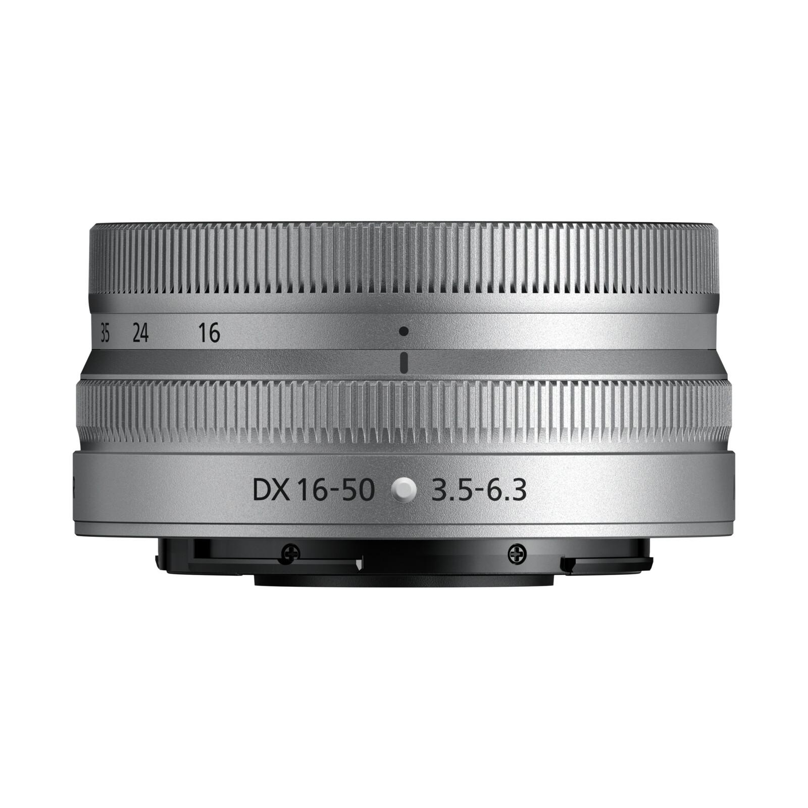 Nikkor Z DX 16-50/3,5-6,3 VR SE silber