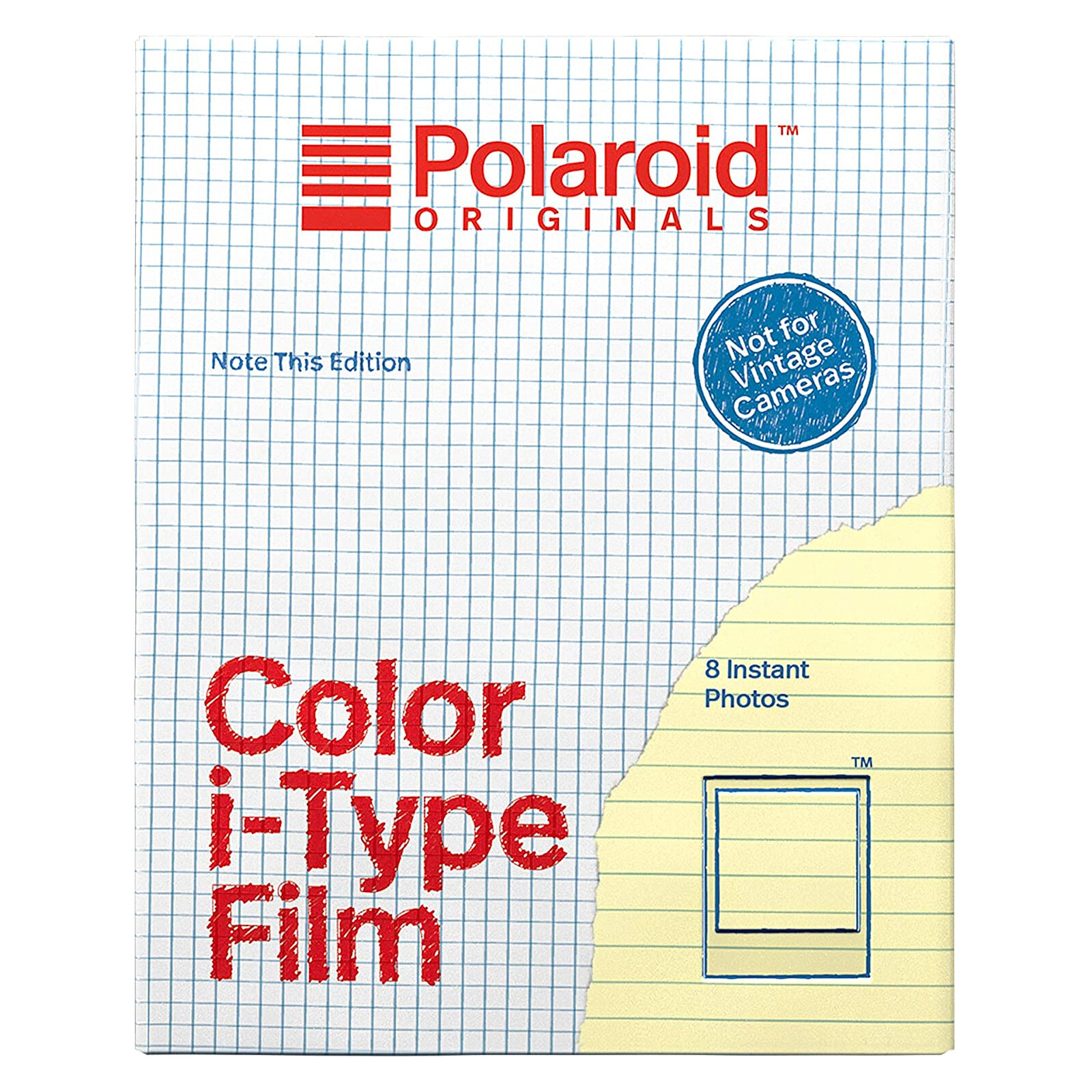 Polaroid i-Type Color Note This Edition