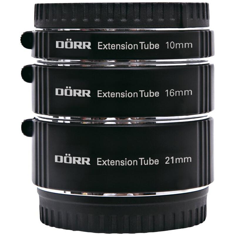 Dörr 10/16/21mm Sony Nex E Zwischenringsatz