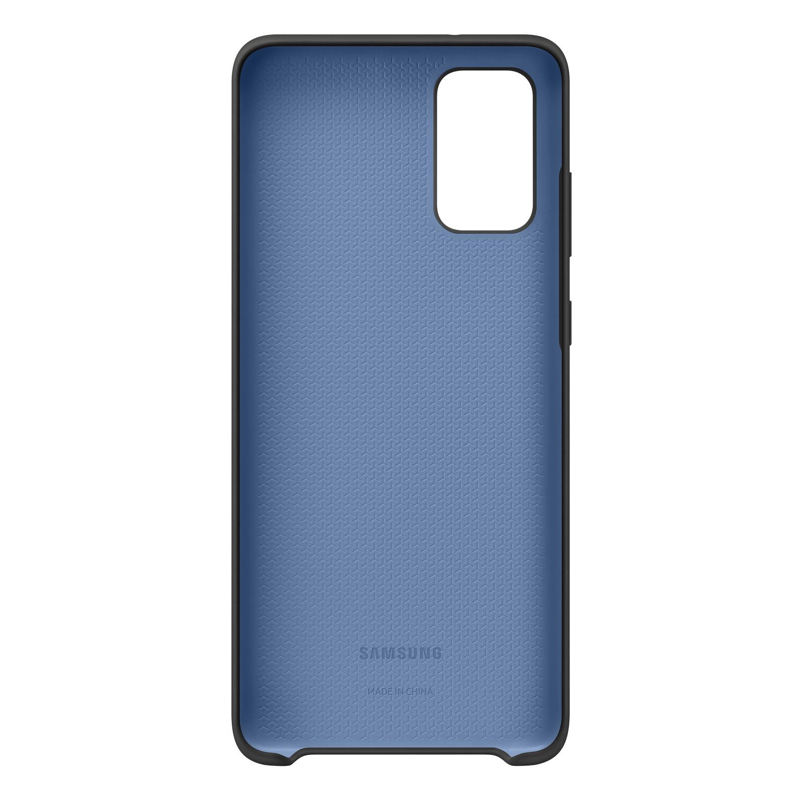 Samsung Back Cover Silicone Galaxy S20+ schwarz