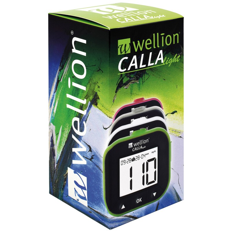 Wellion CALLA Light Set 10 TS blackberry Blutzuckermessgerät
