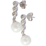 Ohrstecker hängende Perle