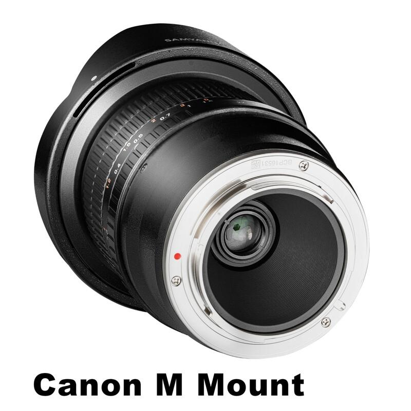 Samyang MF 8/3,5 Fisheye II Canon M