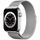 Apple Watch Series 6 GPS+Cellular Edelstahl 44mm Milanaise