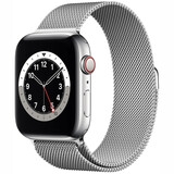 Apple Watch S6 GPS+ Cellular Stahl Milanaise