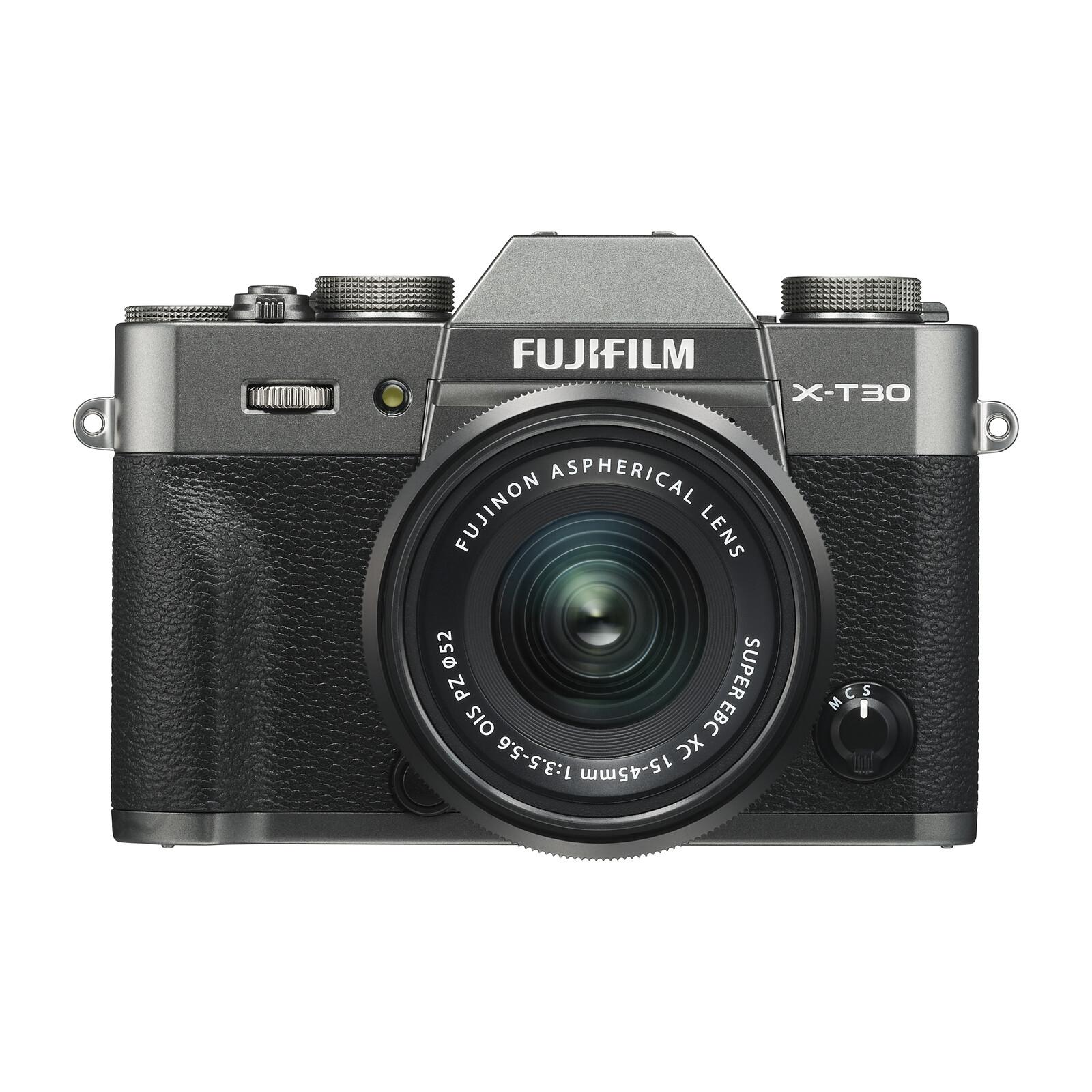 Fujifilm X-T30 + XC 15-45 + XC 50-230 OIS KIT anthrazit