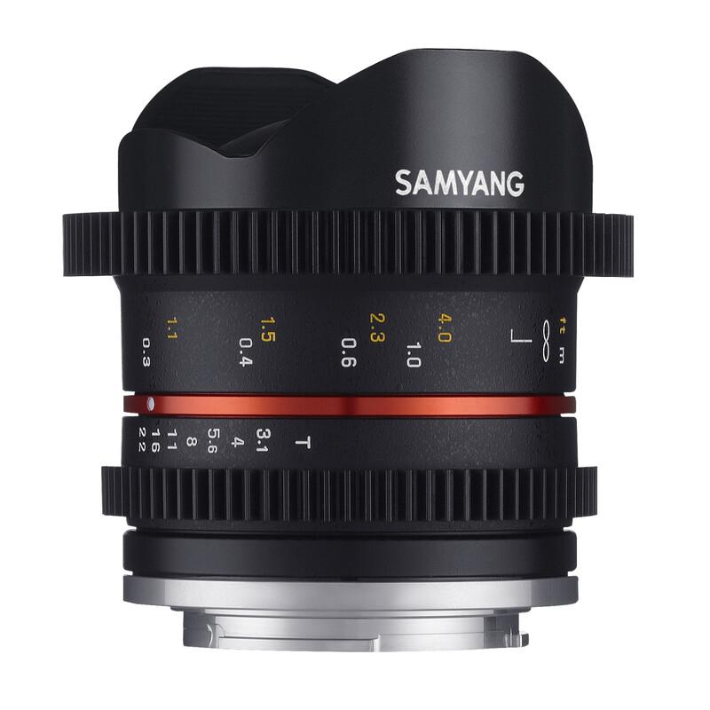 Samyang MF 8/3,1 Fisheye Video Fuji X