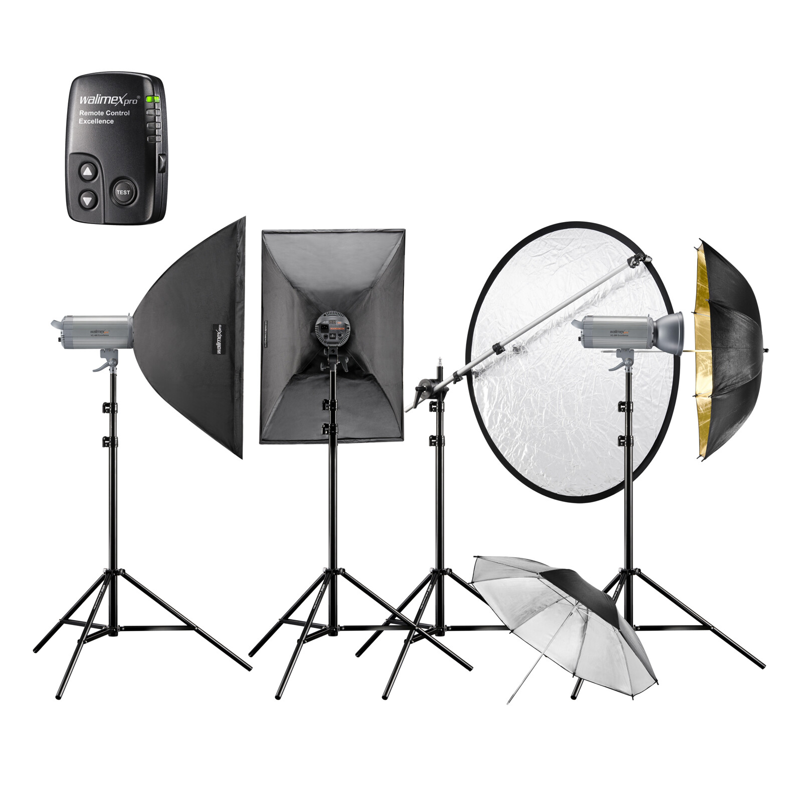 walimex pro Studioset VC-400/400/300 Excellence