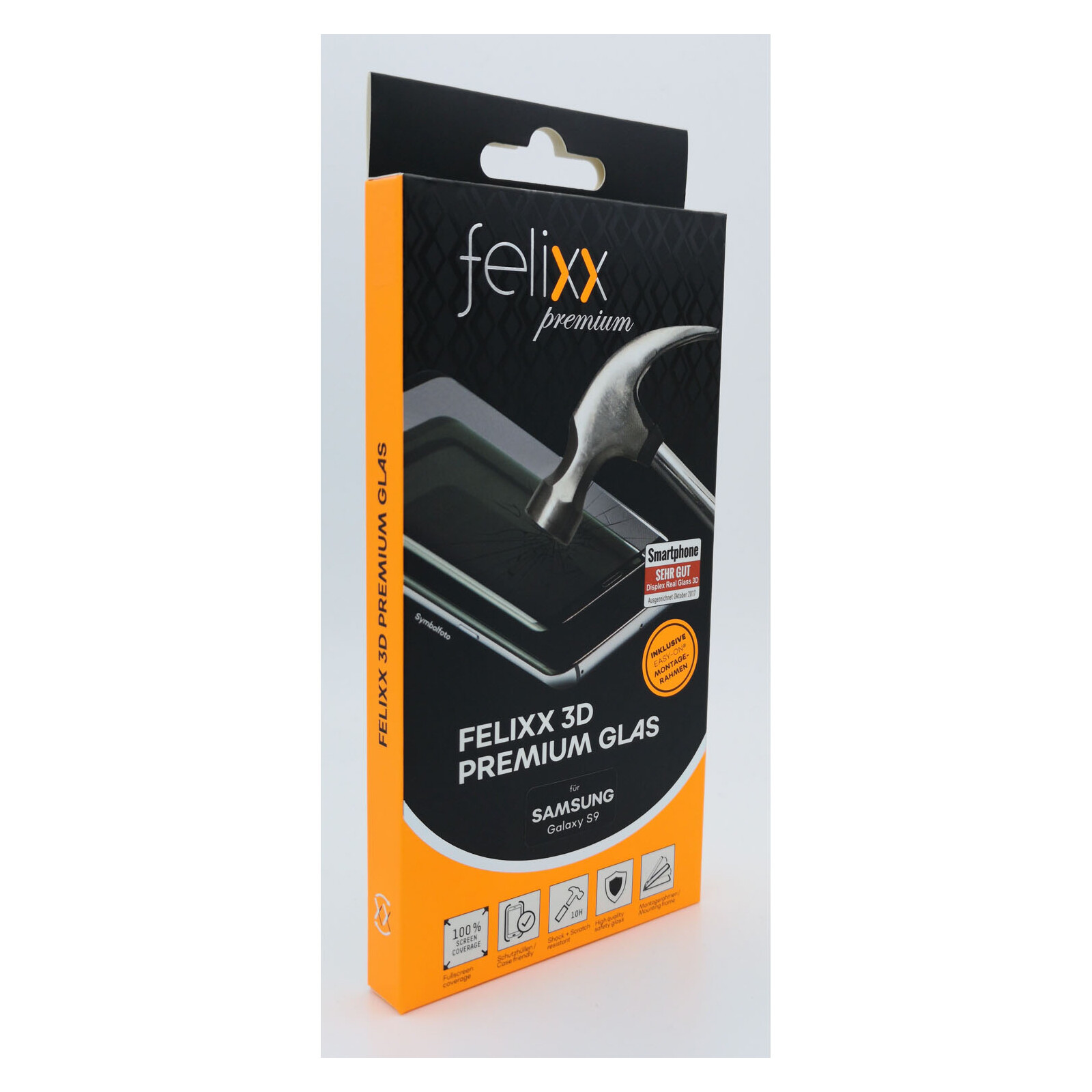 Felixx 3D Premium-Glas Full Samsung Galaxy S9