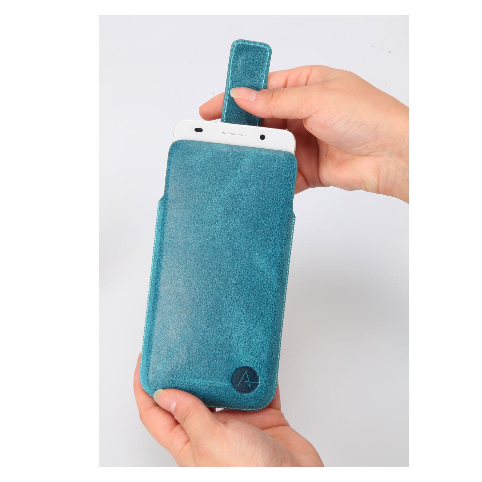 Axxtra Tasche Slide Pocket Size XL turquoise