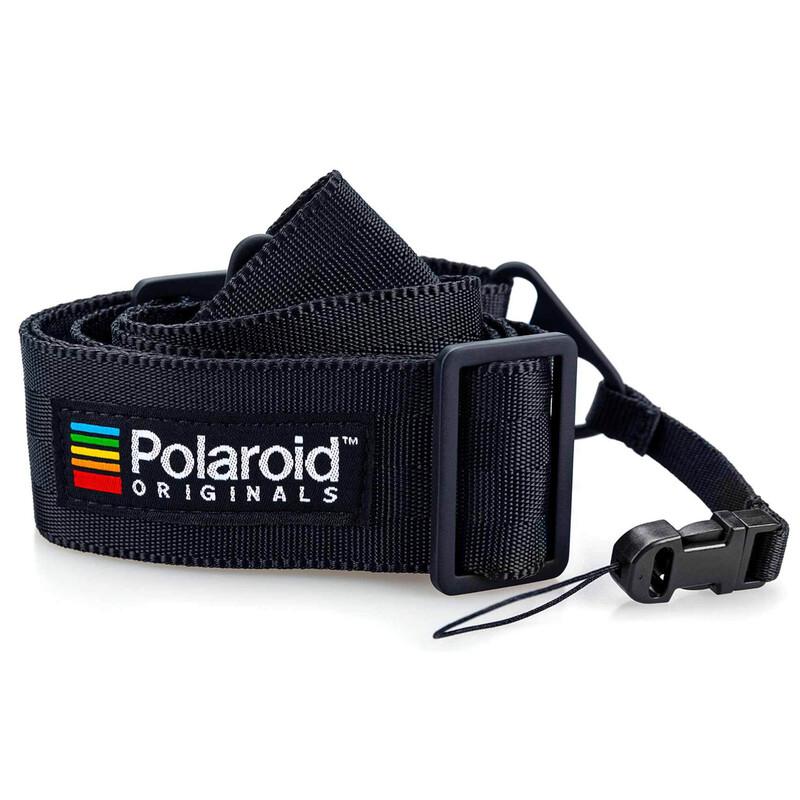 Polaroid Camera Strap Flat Schwarz