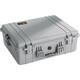 PELI 1600 Case mit Schaumstoff silver
