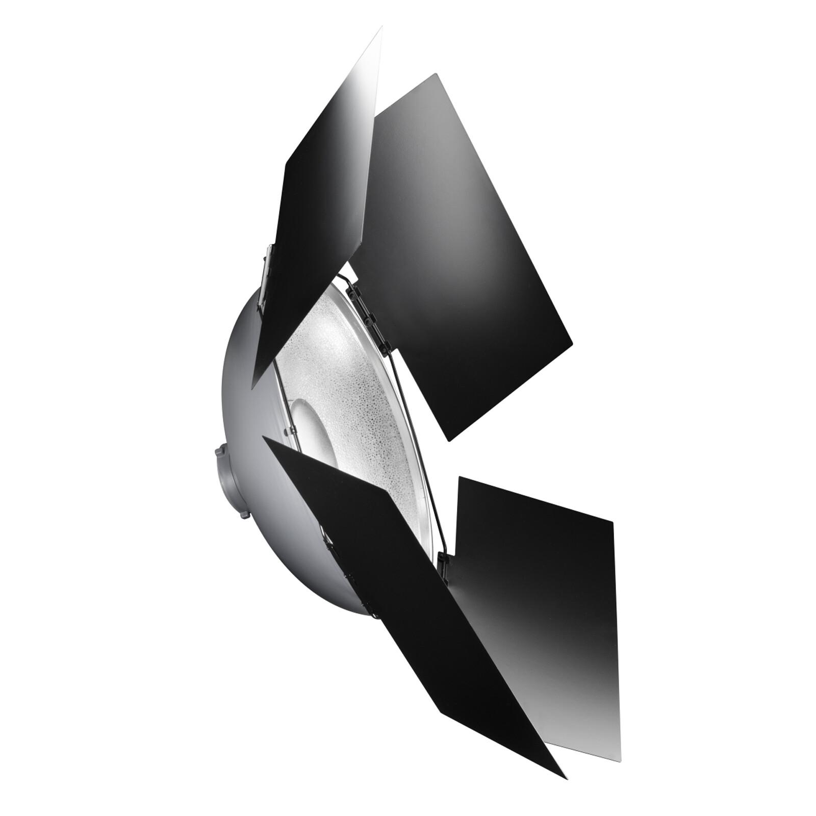 walimex Abschirmklappen für Beauty Dish Ø50cm