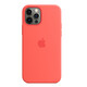 Apple iPhone 12/12 Pro Silikon Case mit MagSafe zitruspink
