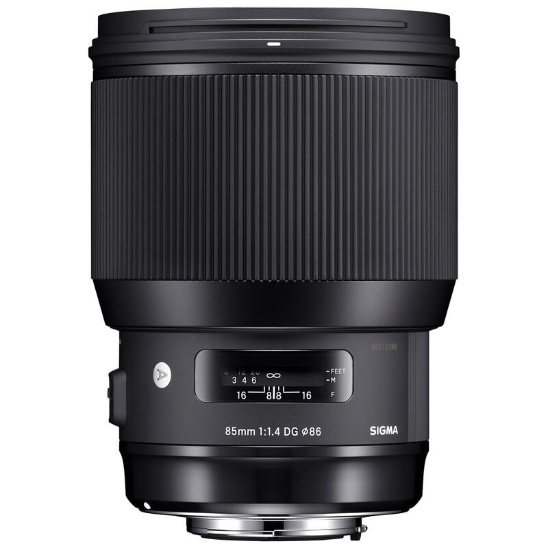 Sigma ART 85/1,4 DG HSM Sigma + UV Filter
