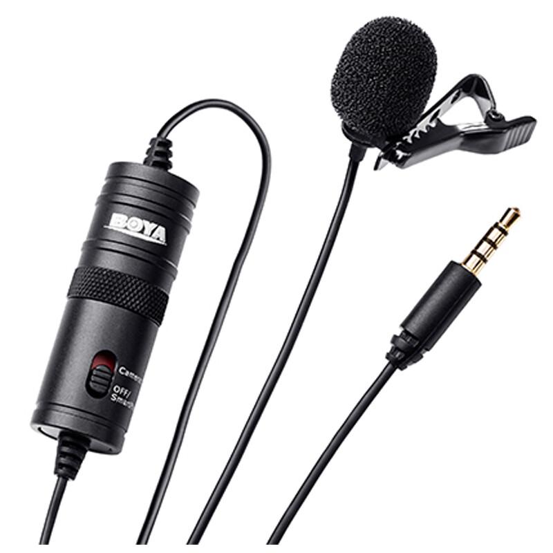 Boya BY-M1 Mikrofon Klinke