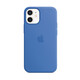Apple iPhone 12 mini Silikon Case mit MagSafe capriblau