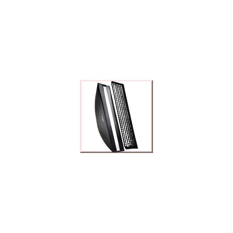 walimex pro Softbox PLUS OL 25x150cm Aurora/Bowens