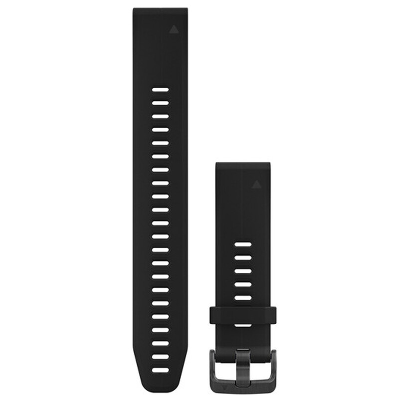Garmin QuickFit 20 Uhrenband Silkon L Schwarz