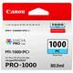 Canon PFI1000PC photo cyan imagePrograf Pro 1000