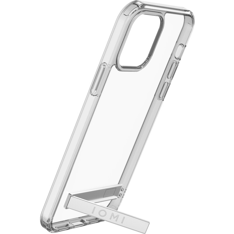 IOMI Backcover Shockproof Stand iPhone 12/12 Pro clear