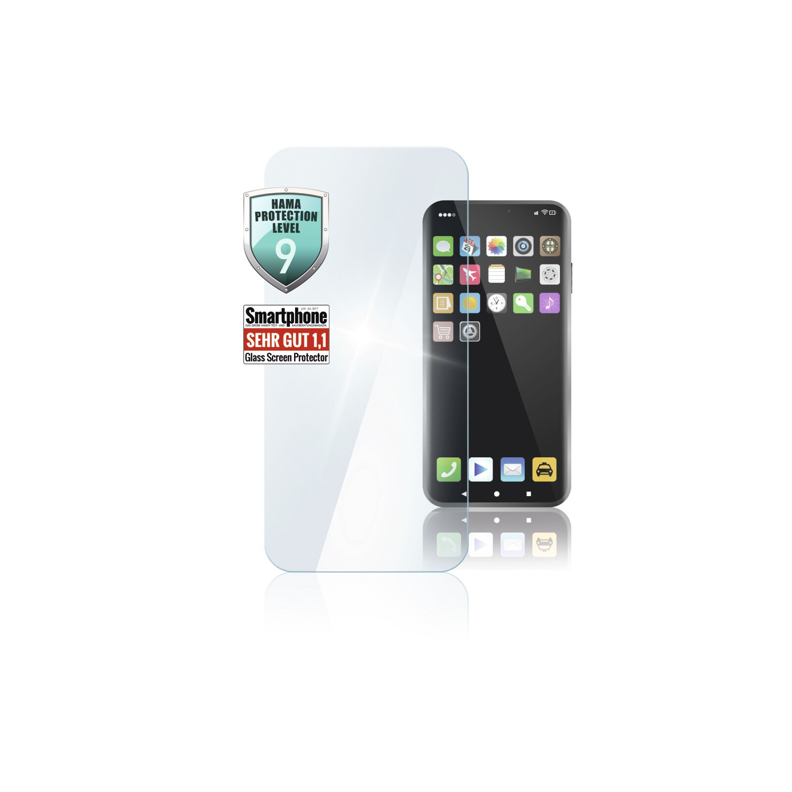 Hama Displayschutzglas Huawei P40