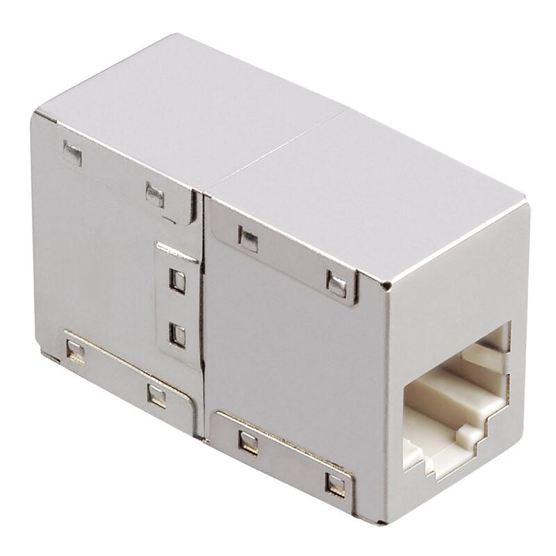 Hama 53775 CAT-6- Netzwerkadapter 2x Modular 8p8c