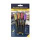 Securit Kreidestifte 1-2mm 4er gelb, pink, orange, violet