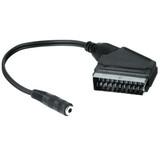 Hama 122244 Adapter Scart-Stecker 3,5mm Klinke