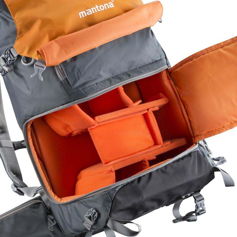 mantona elementsPro 50 Outdoor-und Kamerarucksack