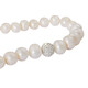 Perlenkette mit Verlauf und Swarovski Kristallen