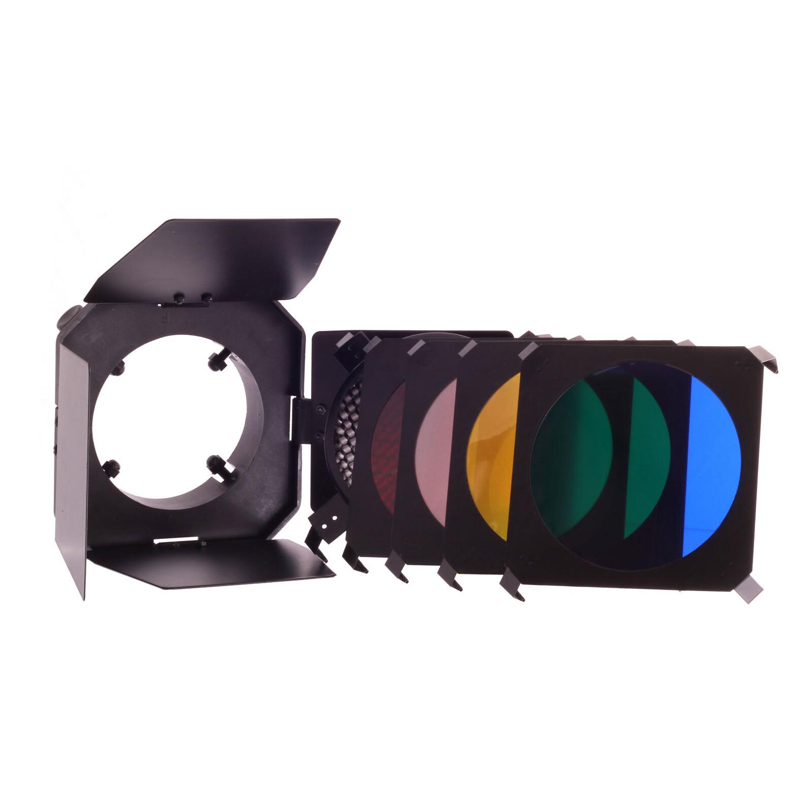 Dörr 371826 SLBL Set Abschirmklappen Waben-4 Farbfilter