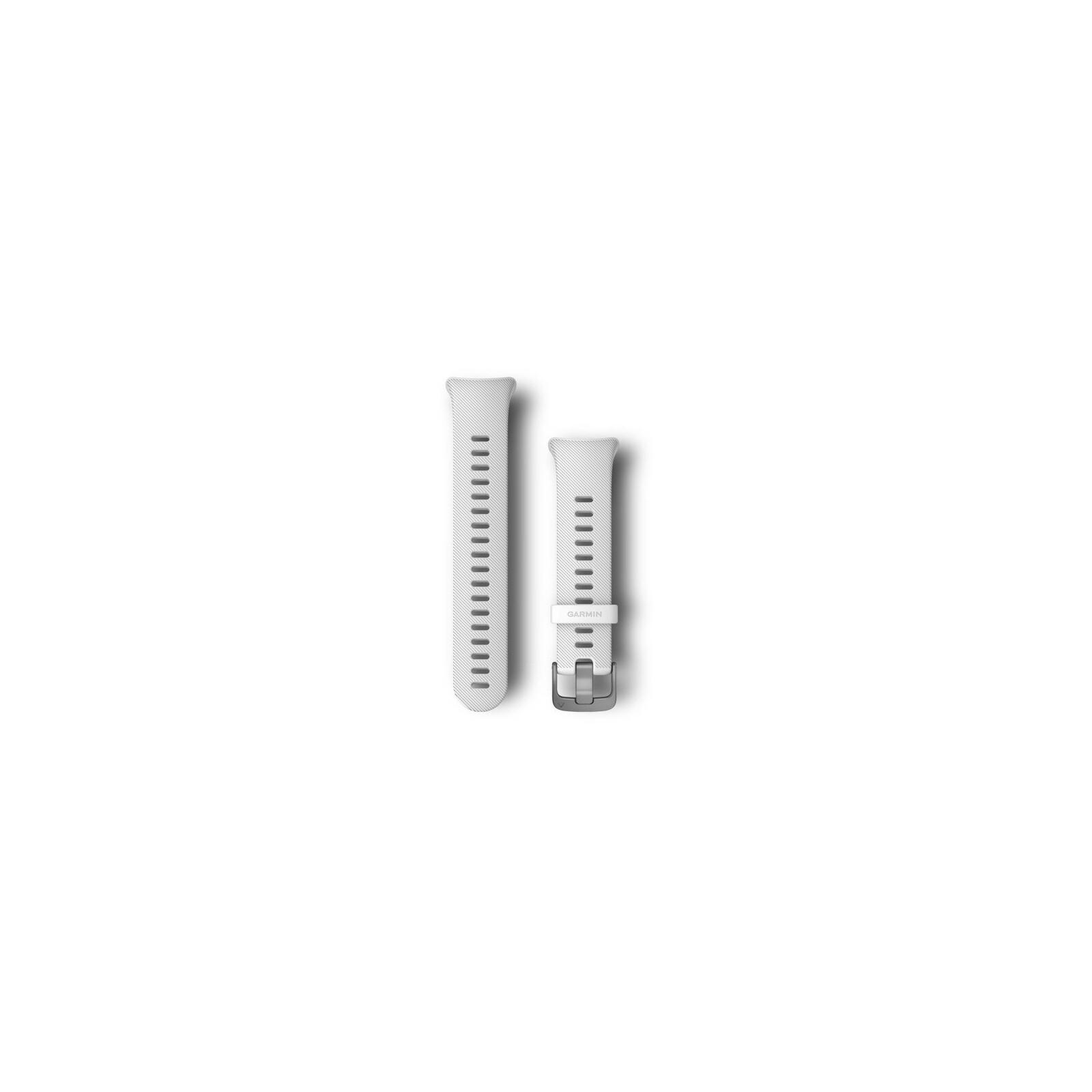 Garmin Forerunner 45S Uhrenband Silikon 18 Weiß