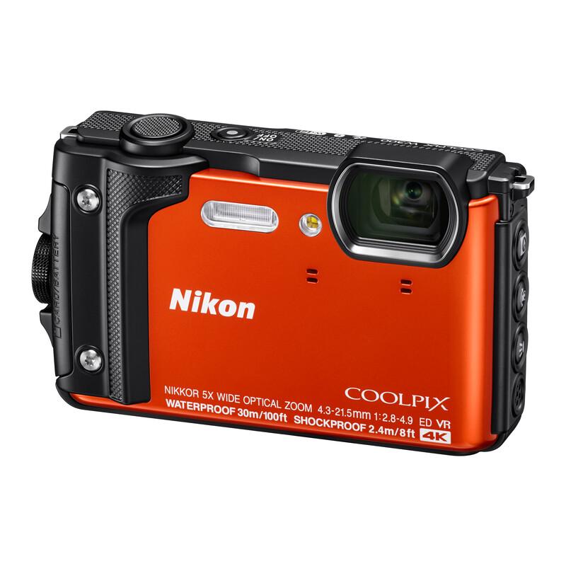 Nikon Coolpix W300 Holiday Kit orange