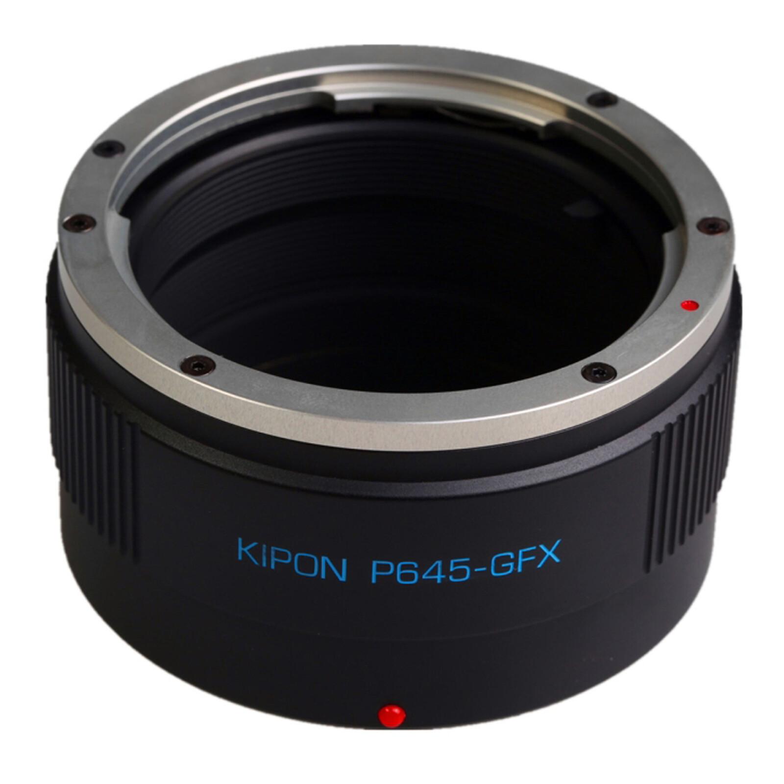 Kipon Adapter für Pentax 645 auf Fuji GFX