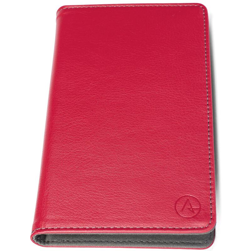 Axxtra Book Tasche Size L bis 142x69x11mm rot