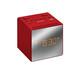 Sony ICF-C1TR Uhrenradio rot