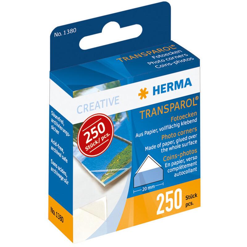 Herma Transparol Fotoecken 250 Stk.