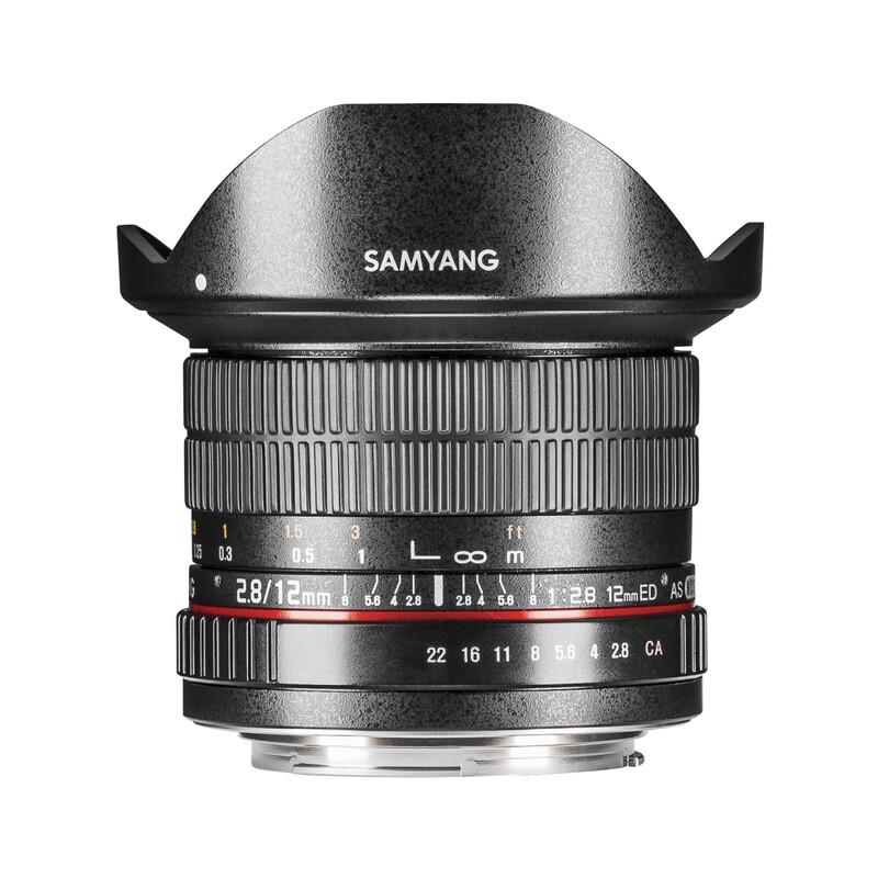 Samyang MF 12/2,8 Fisheye DSLR Pentax K