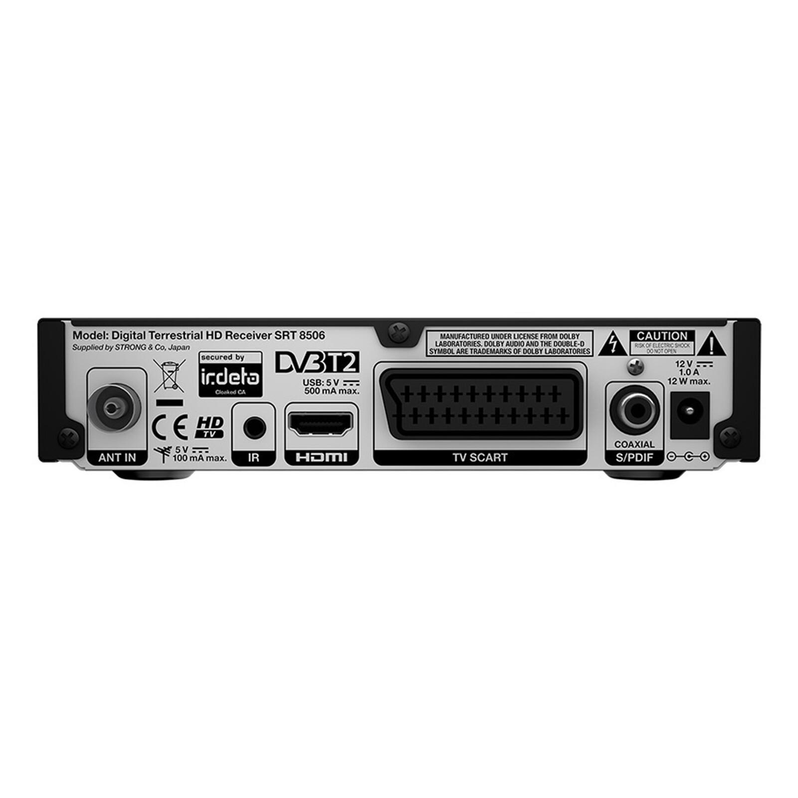 SimpliTV SRT8506 + Antenne DVB-T2