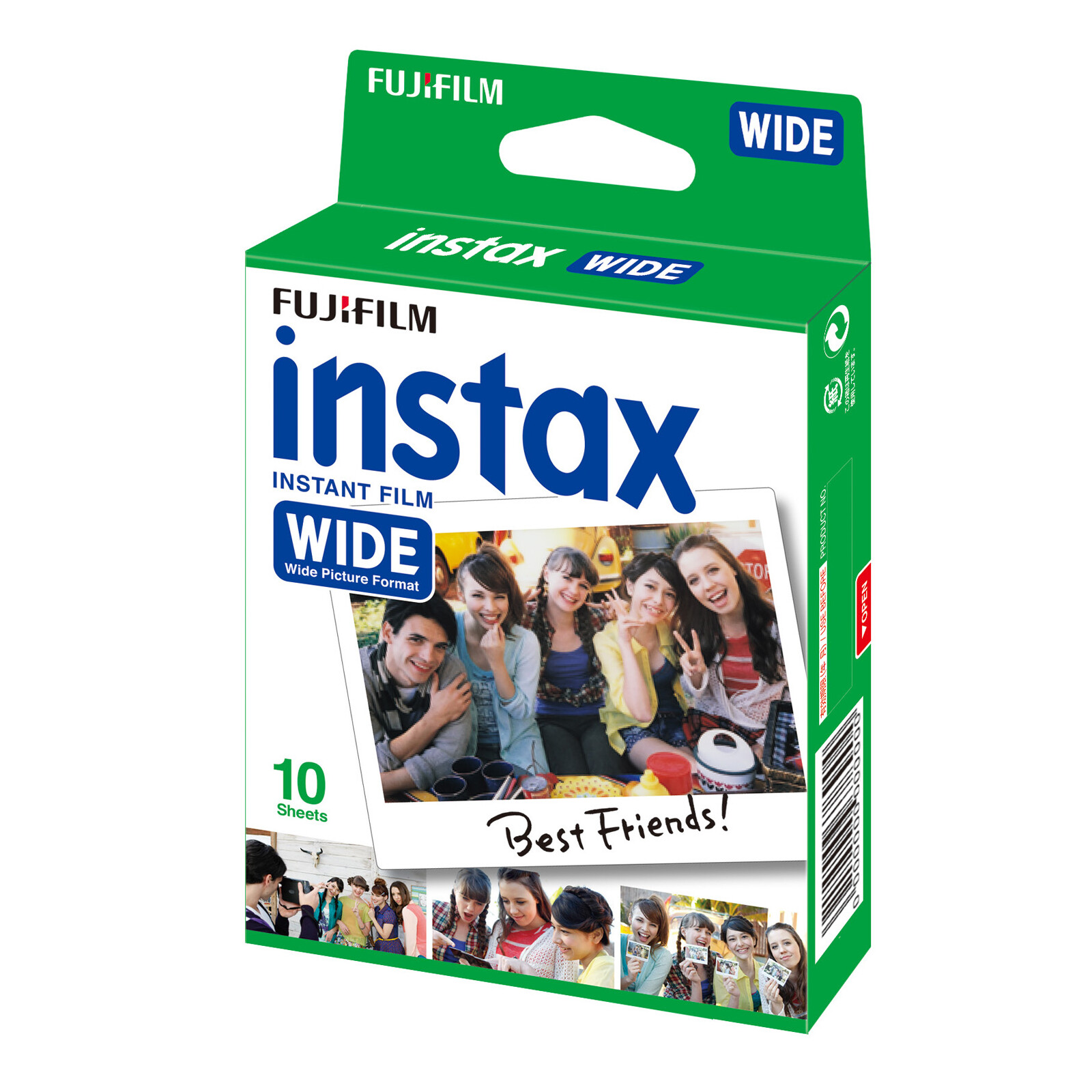 Fujifilm Instax Wide 10 Aufnahmen