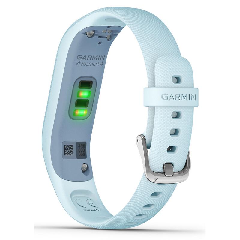 Fitness-Tracker Garmin Vivosmart 4 S/M Hellblau/Silber