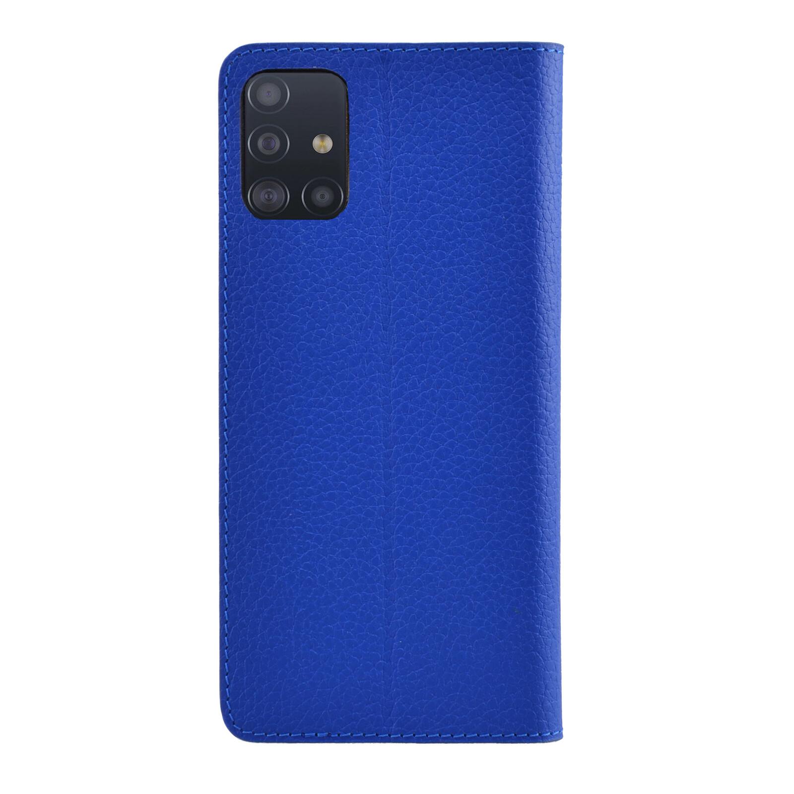Galeli Booktasche MARC Samsung Galaxy A71 classic blue
