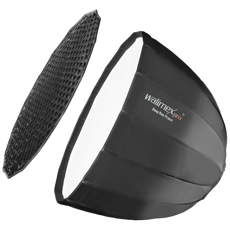 Walimex pro Studio Line Deep Rota Softbox QA70 Multiblitz P