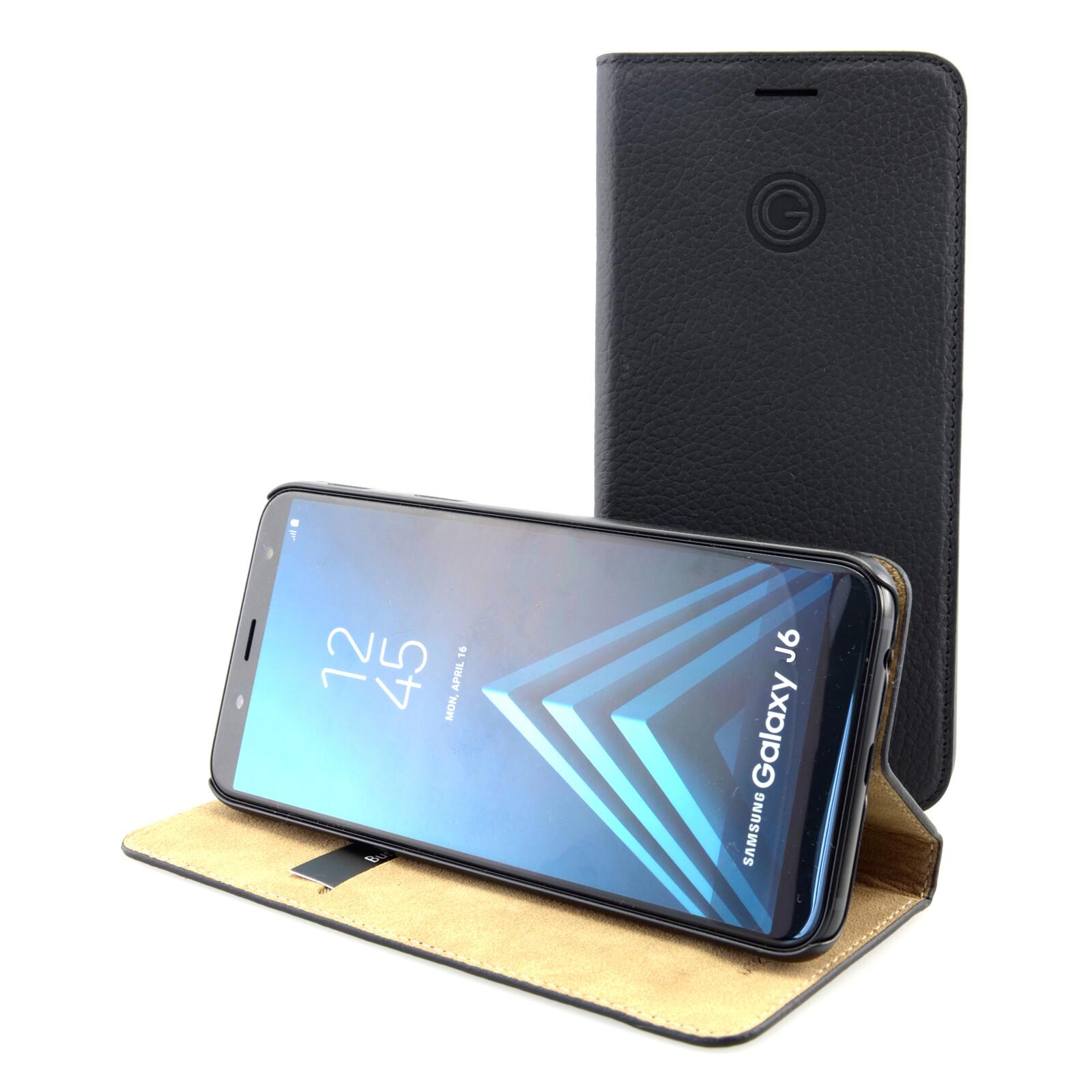 Galeli Book Tasche Marc Samsung Galaxy J6 schwarz
