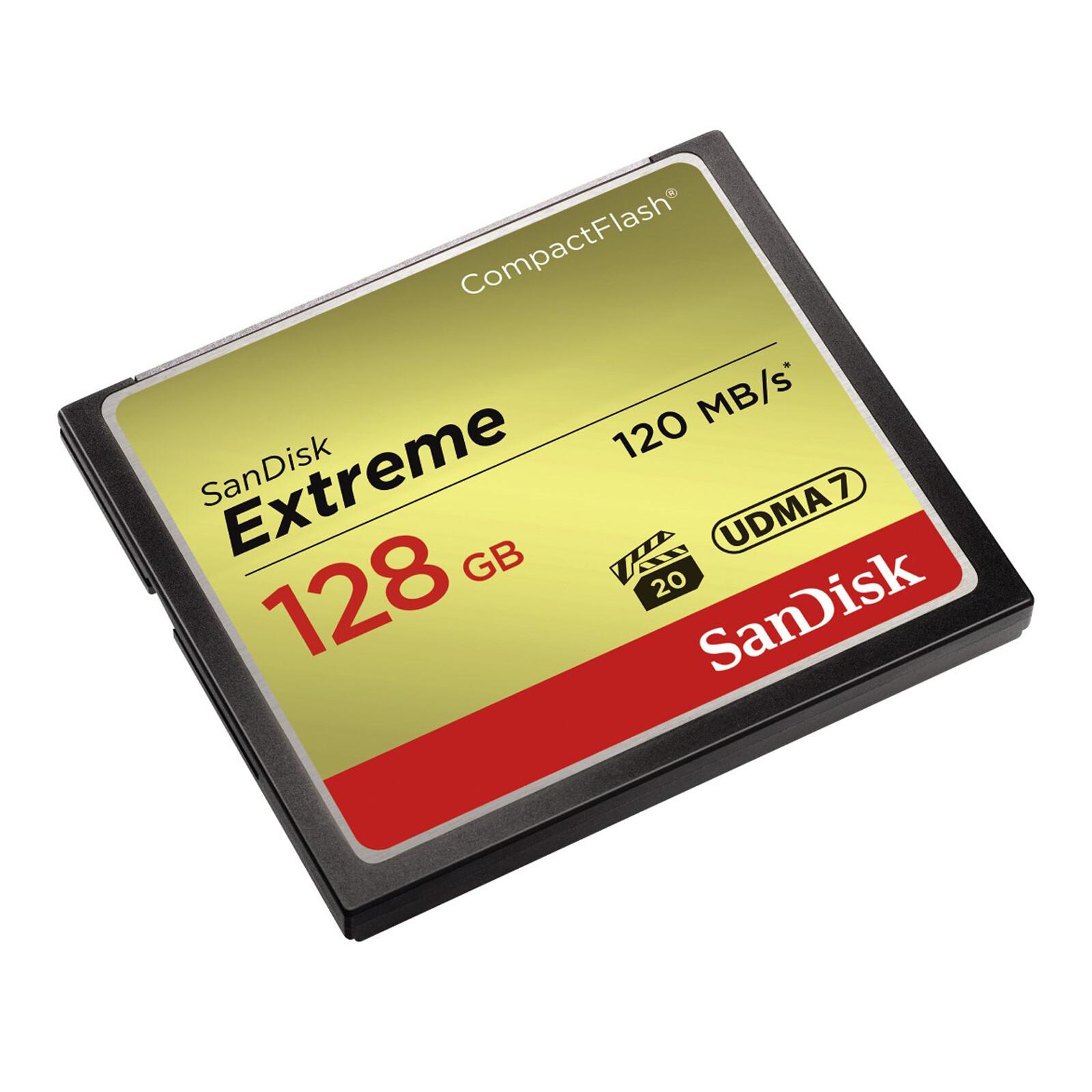 SanDisk CF 128GB Extreme 120MB/s Doppelpack