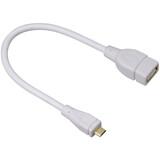 Hama 54518 USB-2.0-Adapterkabel Micro-B- A
