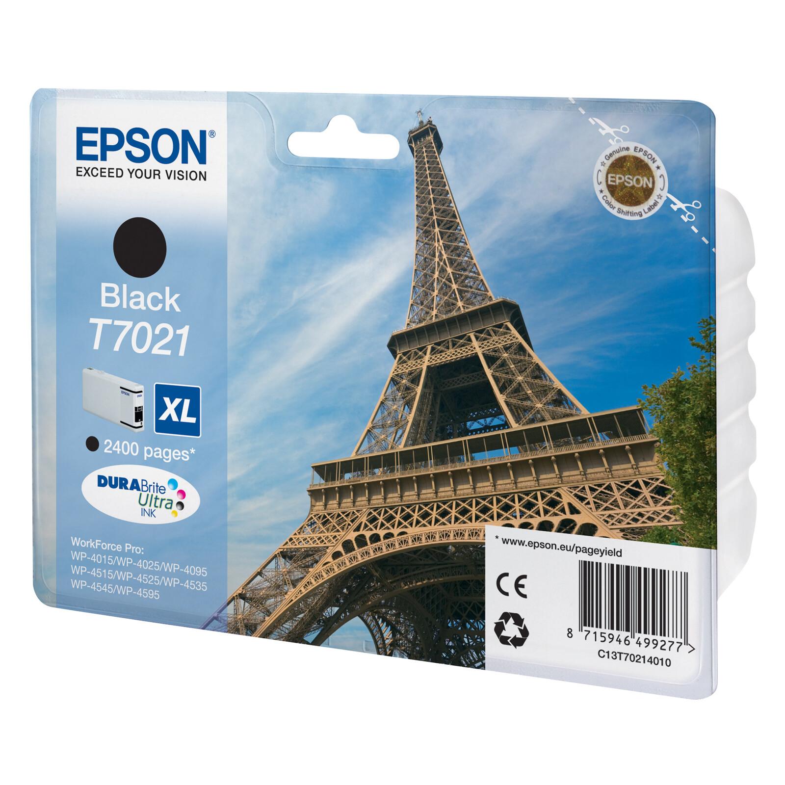 Epson T7021XL Tinte Black 45,2ml