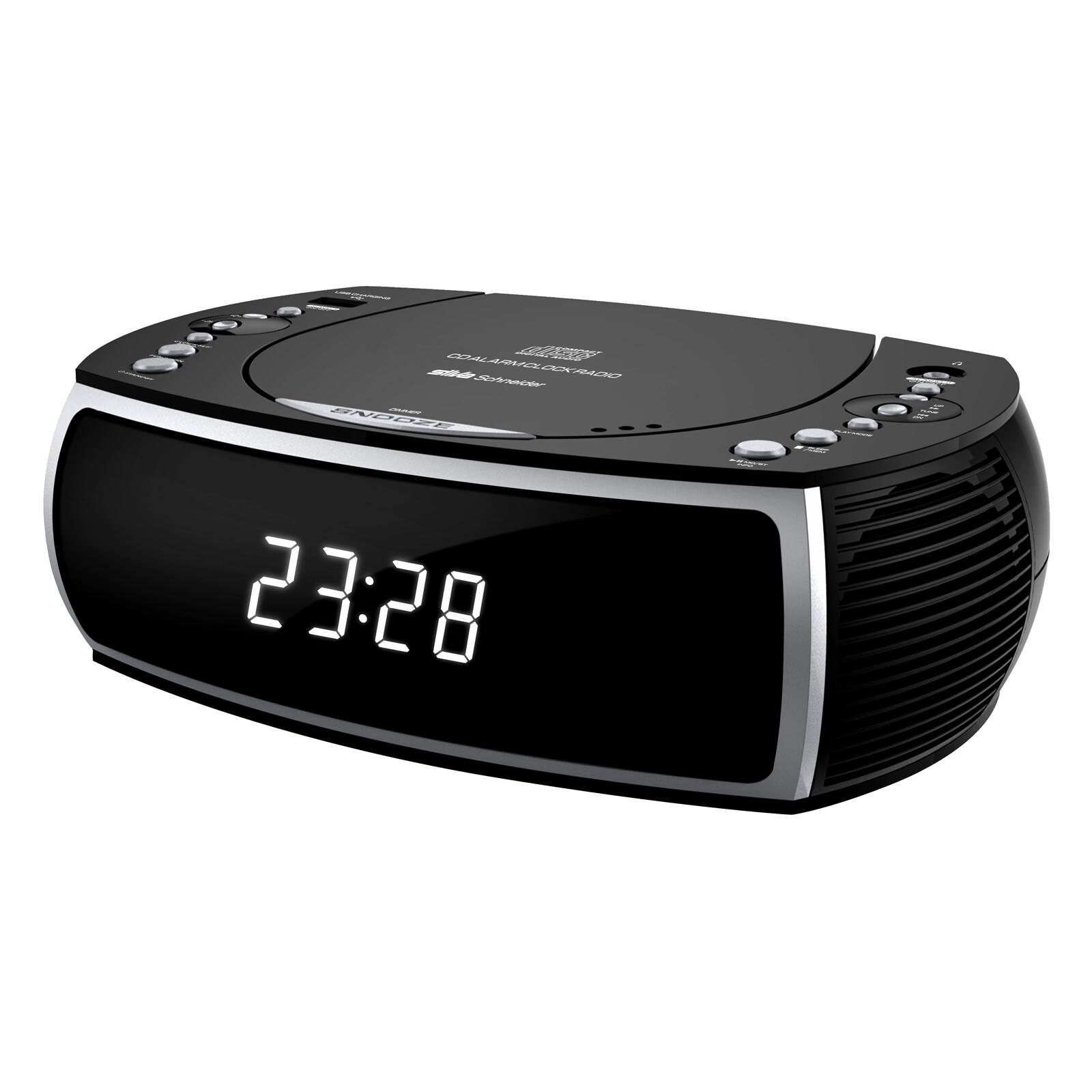 Silva CCD 16 Uhrenradio USB Schwarz