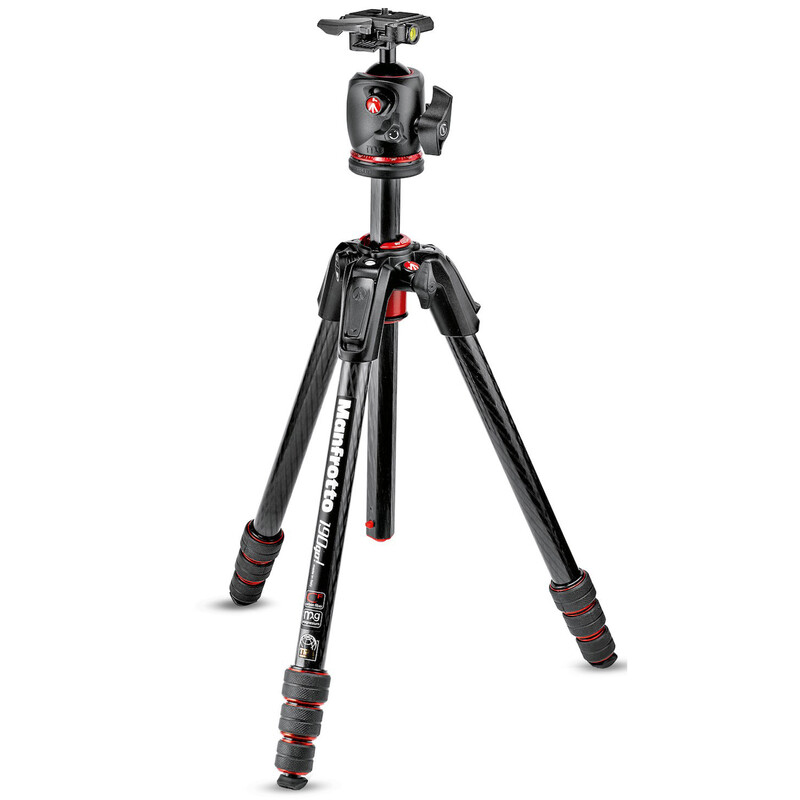 Manfrotto 190Go! Carbon mit XPRO Kugelkopf
